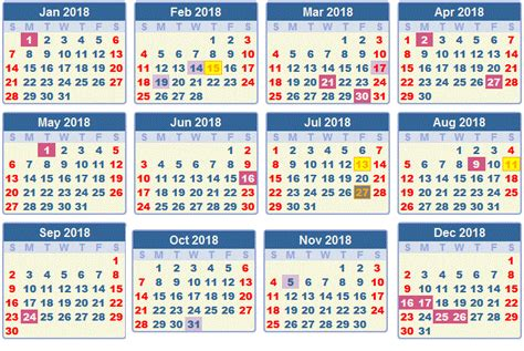 South Africa Calend 2018 2018 Printable Calendar With South Africa Holidays Free