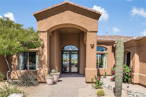 spanish mission style courtyard home books worth 29074 n 108th pl scottsdale az 85262 sold homes for sale