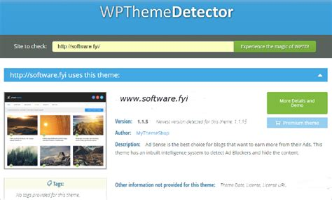 blog theme detector wonderful best wordpress themes for websites not blogs