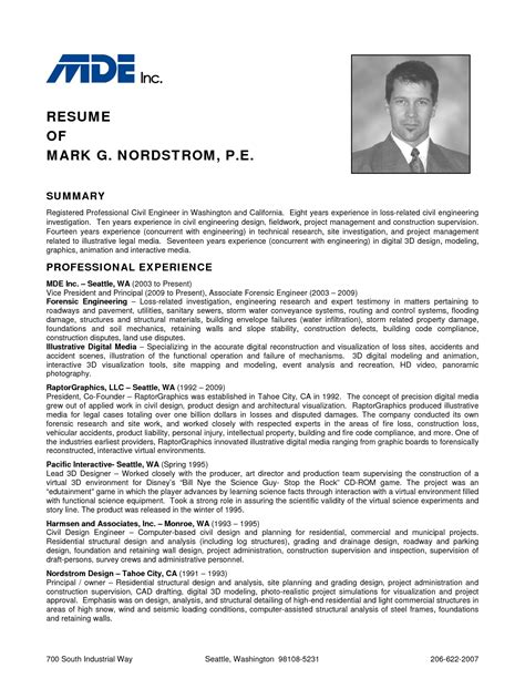 help for you civil engineer resume exle 2016