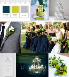 wedding color schemes cheers to novelty navy blue olive green and slate