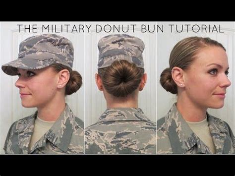 air force hair regulations best 25 donut bun ideas on pinterest