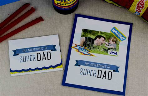 Send Visa Gift Card By Mail - free printable father s day gift card for super dad gcg