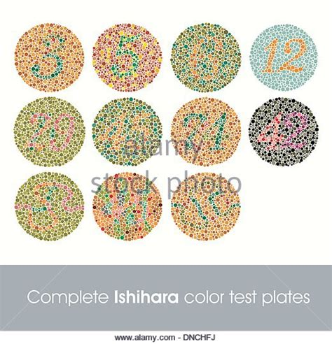 Ishihara Color Blindness Test 82 ishihara test stock photos ishihara test stock images alamy