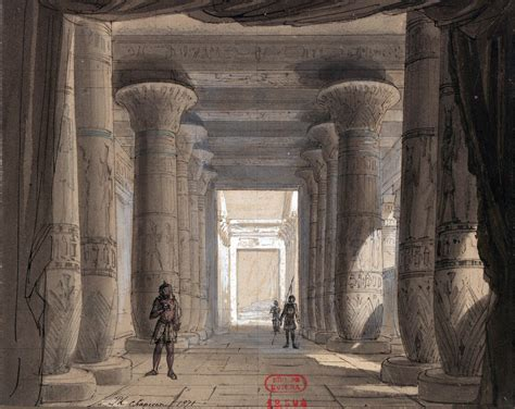 temple of the scapegoat opera stories books file set design by philippe chaperon for act1 sc2 of aida