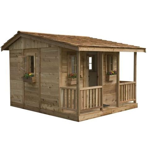 cedar playhouse cozy cabin and playhouses for sale on