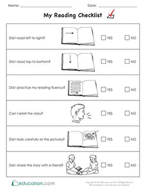 Book Report Worksheet For Kindergarteners by Kindergarten Reading Worksheets Education