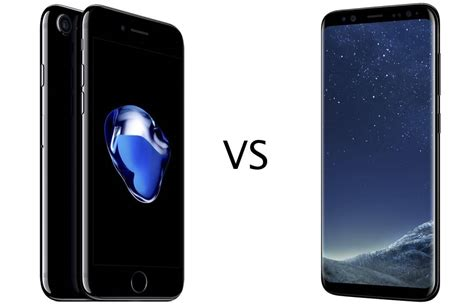 Samsung Iphone 7 samsung galaxy s8 vs iphone 7 welk toestel is jouw geld waard