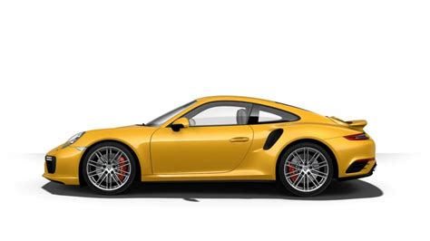 porsche yellow here s porsche s most expensive paint so far saffron yellow