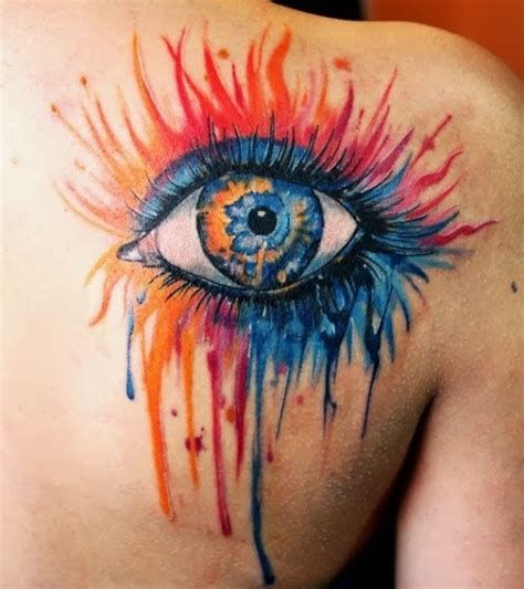 tattoo eye shoulder shoulder blue eye tattoo tattoomagz