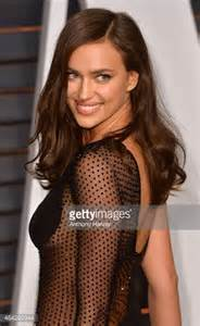 Irina Shayk At The Vanity Fair Oscar In 2015 Irina Shayk Arrives At The 2015 Vanity Fair Oscar