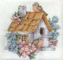 cross stitch you have to see birdhouse cross stitch on craftsy