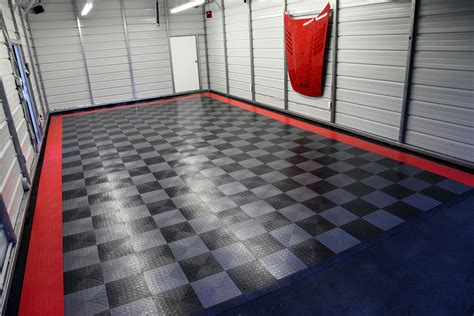 Rubber Mat Garage Floor Covering by Coin Pattern Garage Flooring Floor Matttroy
