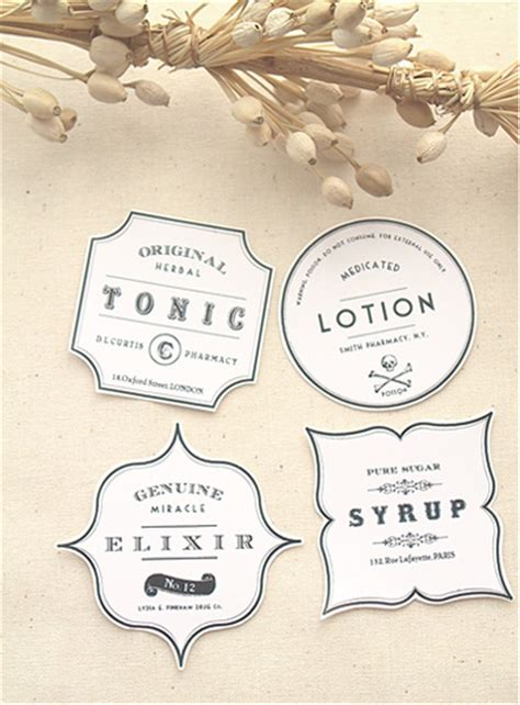 printable glass labels free vintage apothecary style labels i do it yourself 174