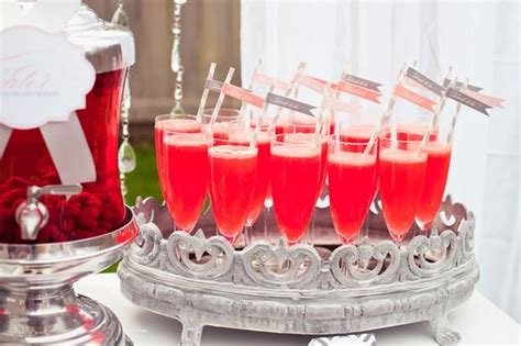 Signature Cocktails For Bridal Shower by Signature Drink Bridal Shower Ideas