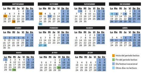 Calendario Escolar Castilla Y Vacaciones Calendario Escolar Curso 2016 2017 En