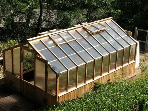 wooden greenhouse plans your home