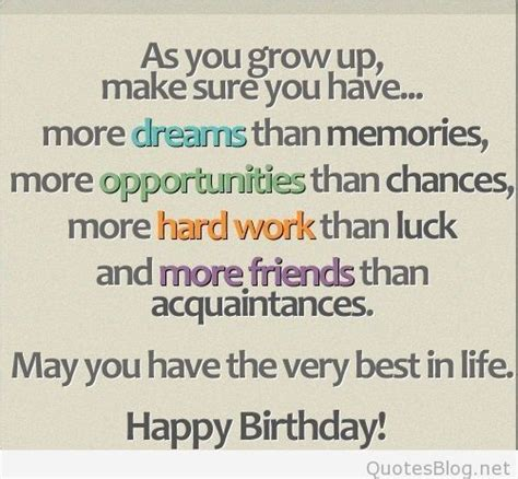 In Happy Birthday Quotes Happy Birthday Quotes And Messages For Special People