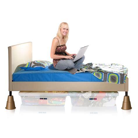 bed leg risers slipstick 127mm large bed leg riser 4 pack bunnings