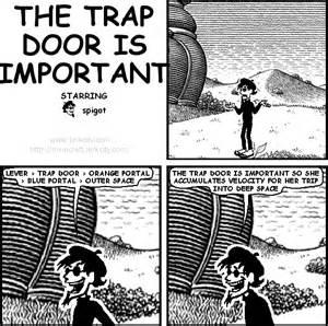 the trap door is important version