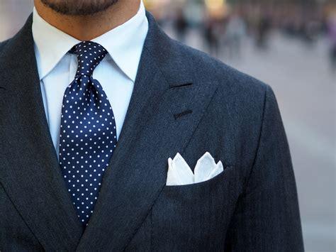 blue pin dot tie   gray suit dresslikeacom
