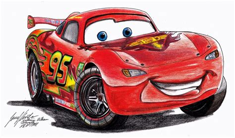 Lightning McQueen Commission by Lowrider Girl on DeviantArt