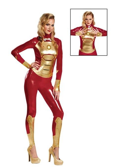 Sale Iron Spandex sassy iron 42 lycra bodysuit costume ebay