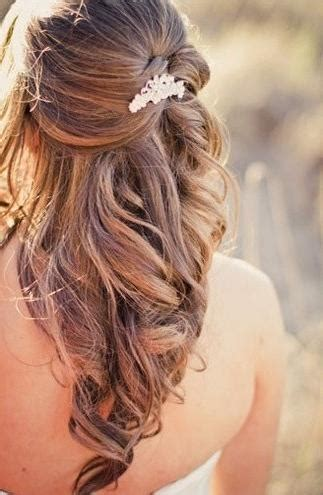35 Wedding Hairstyles Discover Next Years Top Trends For | 20 ideas of wedding half up long hairstyles