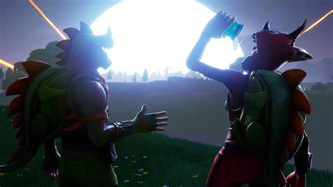 fortnite trailer the comet smash into fortnite in new season 4