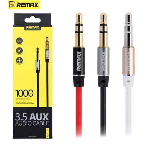 3 5mm remax aux cable 100cm 3ft 6ft to for iphone ipod mobile headphone