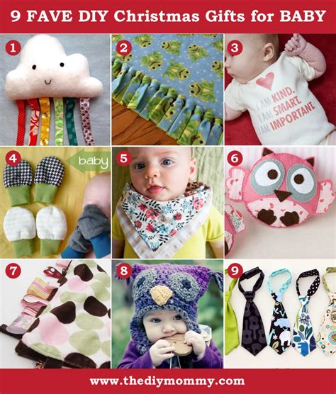 a handmade christmas diy baby gifts the diy mommy