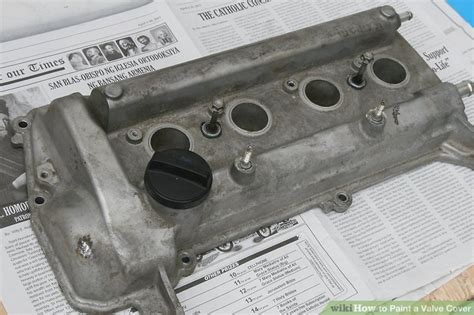 Painting Valve Cover by How To Paint A Valve Cover 8 Steps With Pictures Wikihow