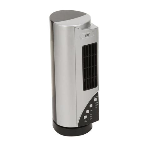spt 15 3 4 in oscillating mini tower fan sf 1530i the