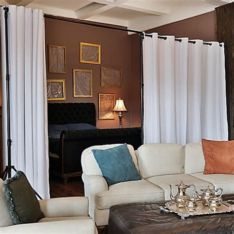 room dividers now buy room dividers now 8 foot x 5 foot premium heavyweight room divider curtain panel in