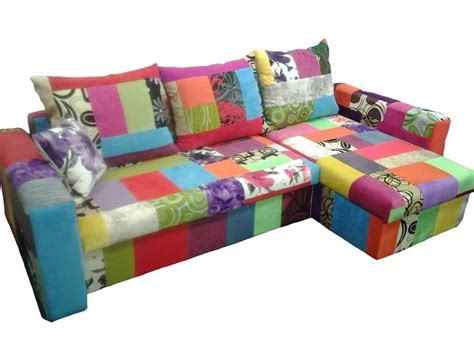 Patchwork Corner Sofa - 17 best ideas about multicoloured sofas on