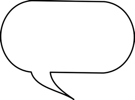 speech bubble template cliparts co
