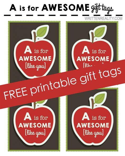 printable apple gift tags free printable apple tag written reality