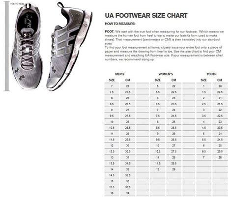 shoe size chart under armour under armour women s valsetz trail boot black