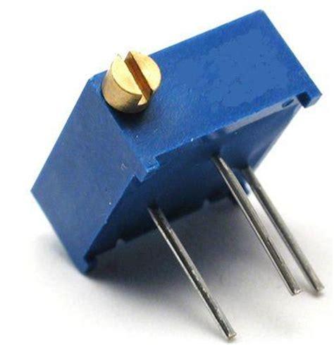 resistor trimpot adalah resistor