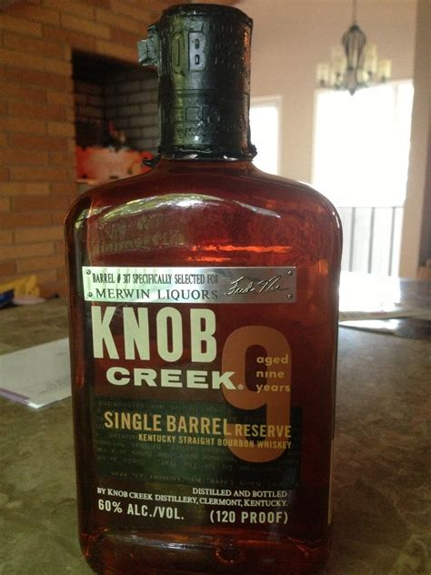 Knob Creek 120 Proof by Knob Creek Barrel 387 Looks Tasty At 120 Proof Bourbon