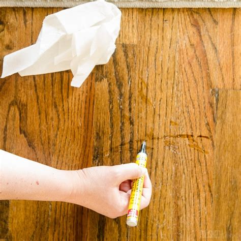 how to repair wood floor scratches fix friday