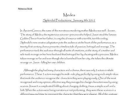 medea themes essay how to write a good medea essays