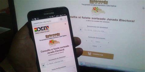 lista de jurados referendum de bolivia lista de jurados electorales del departamento de tarija