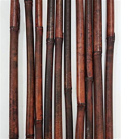 Amazon Com Greenfloralcrafts Decorative Bamboo Poles 57 Tall | greenfloralcrafts decorative bamboo poles 3 5 ft mahogany