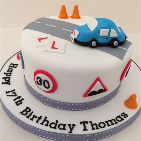 Home Xmas Decorations learner driver cake