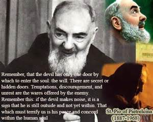Little plant of st francis st padre pio quotes