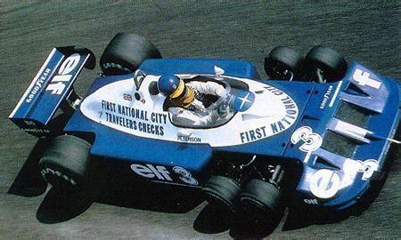 Lotus 6 Wheel F1 6 Wheel Tyrrell Formula 1 Grand Prix