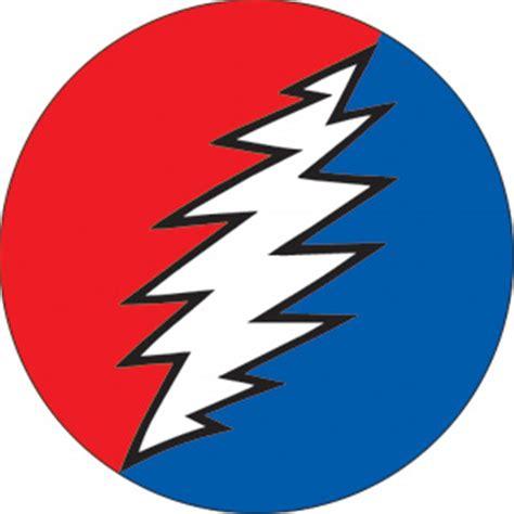 Grateful Dead Home Decor grateful dead lightning bolt button