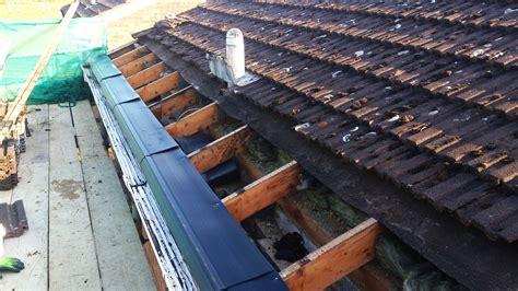 loft roof repair roof eaves replacement leaking roof on single storey