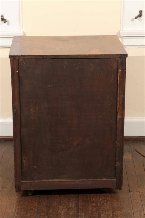 Rolling Bar Cabinet by Deco Rosewood Rolling Bar Cabinet For Sale At 1stdibs